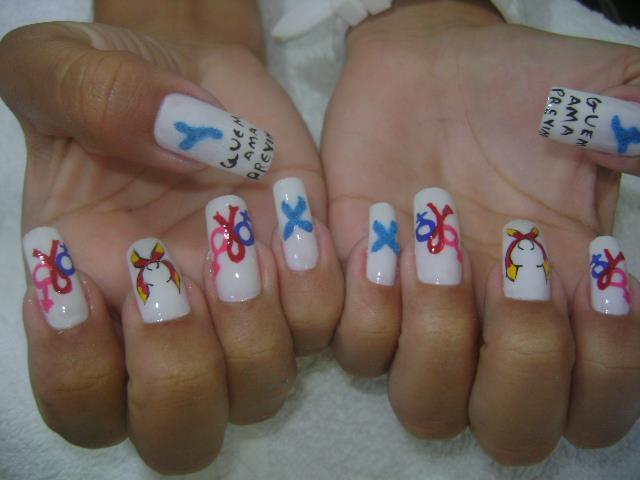 Meu trabalho Faço com. Amor carinho, tinta e pincel manicure e pedicure depilador(a)