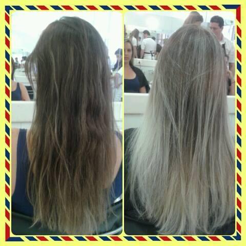 Ombré cabeleireiro(a)