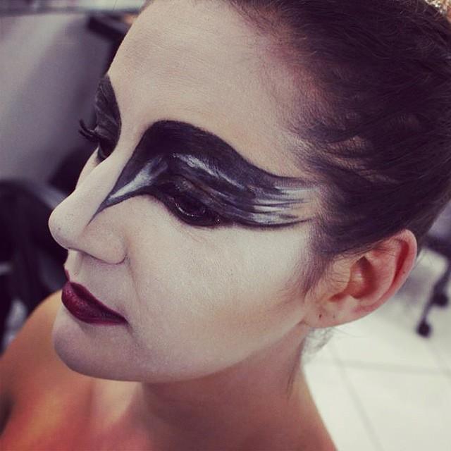 cisne negro, ballet, ideias maquiagem  maquiador(a)