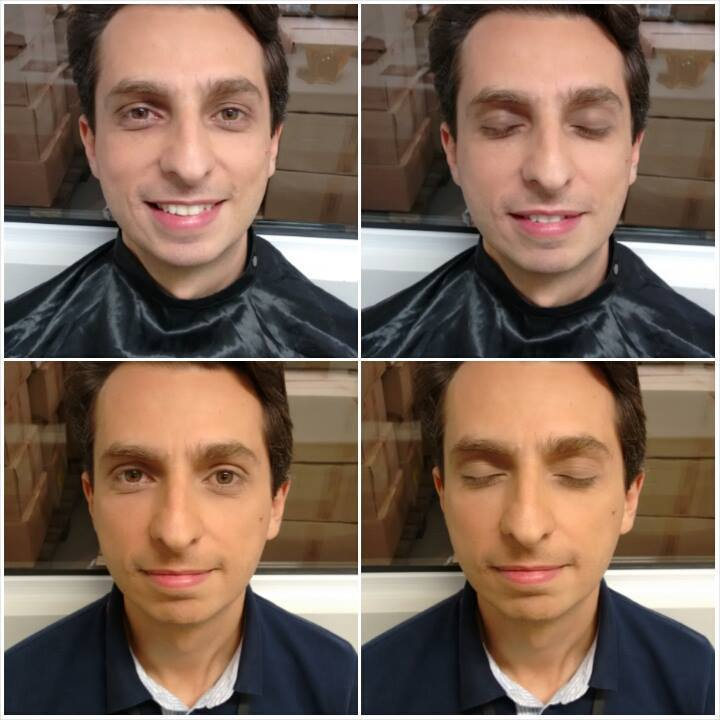 Masculina maquiador(a) designer de sobrancelhas