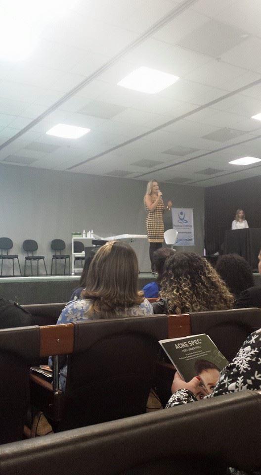 Workshop Workshop realizado na Estética in São Paulo sobre acne. esteticista