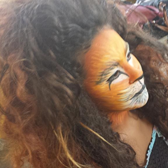 halloween, festa á fantasia, artística maquiagem  maquiador(a) designer de sobrancelhas