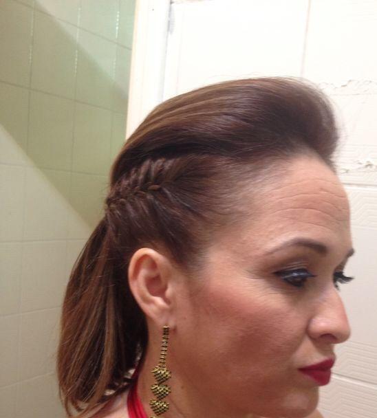 trança lateral, casamento, noiva, madrinha, rock cabelo  cabeleireiro(a)
