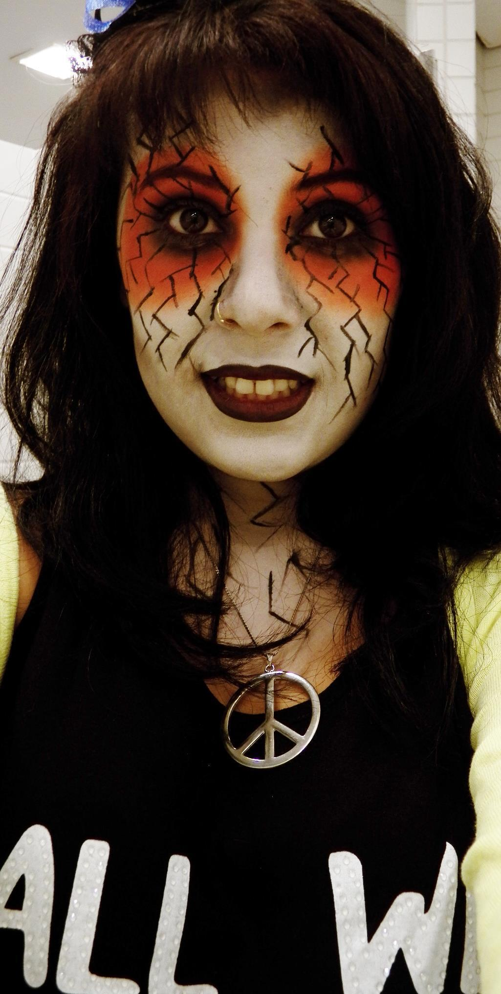Halloween halloween, festa á fantasia, artística maquiagem  visagista consultor(a) maquiador(a)