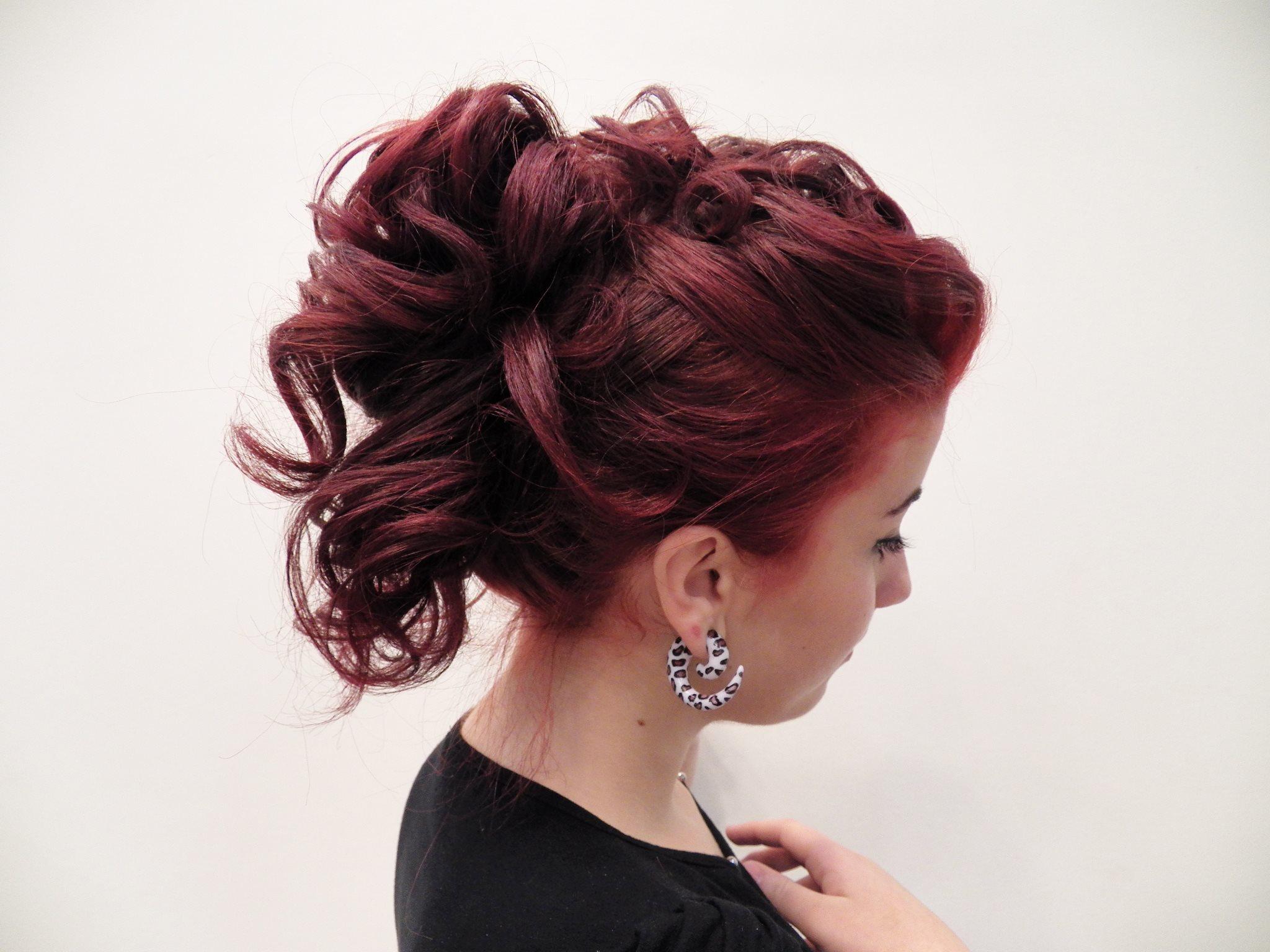 Teste Cachos cachos ruivos, coque, casamento, show cabelo  visagista consultor(a) maquiador(a)