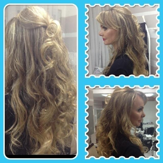 penteado e maquiagem cabeleireiro(a)