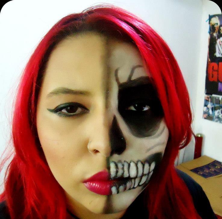 Maquiagem artística artística, festa á fantasia, halloween maquiagem  cabeleireiro(a) maquiador(a) consultor(a) em imagem