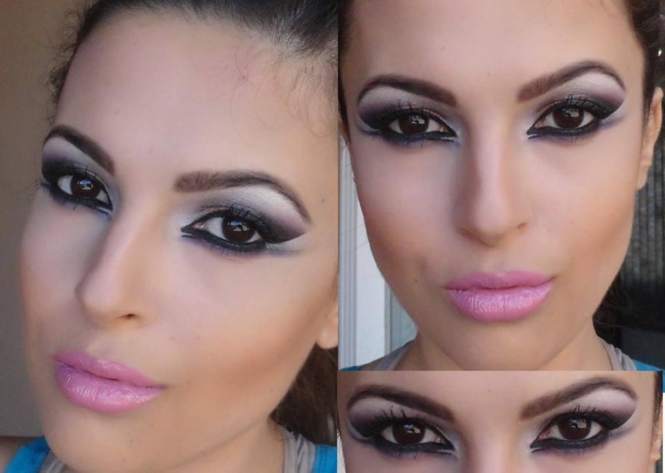 By Andrezza Souza dia e noite, simples, esfumado, festa, balada maquiagem  designer de sobrancelhas maquiador(a)