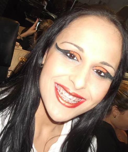 maquiagem passarela Feita por mim no Senas Rj minha modelo maquiador(a) auxiliar cabeleireiro(a)