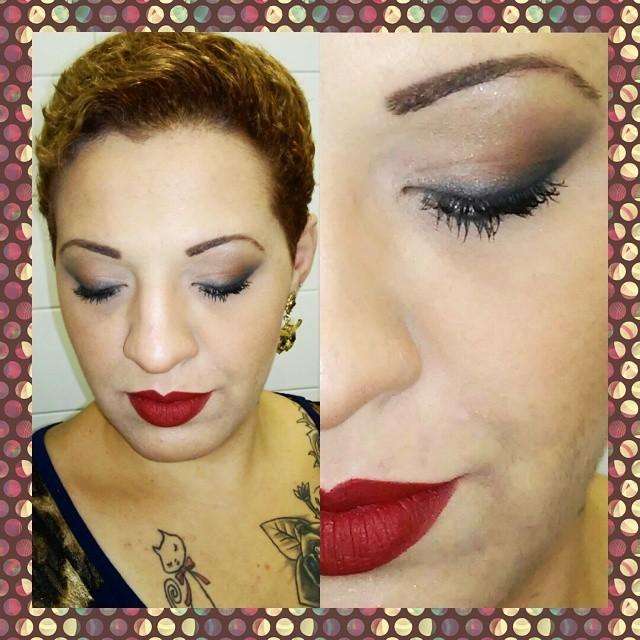 Esfumado sem marcações maquiador(a)
