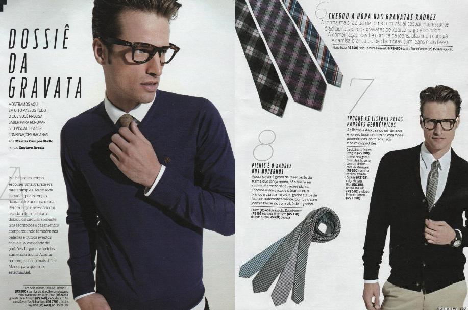 Revista Vogue Homem  maquiador(a) cabeleireiro(a)