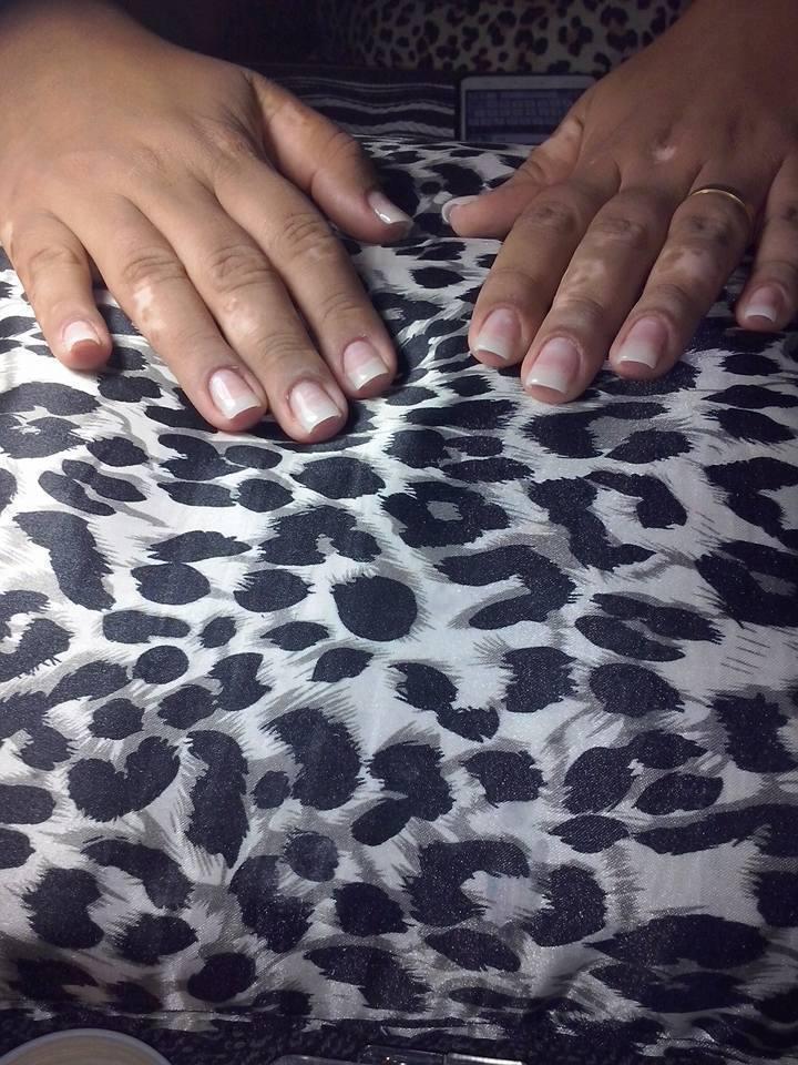Unhas de Acrygel Feita por mim , atendimento à domicilio. manicure e pedicure