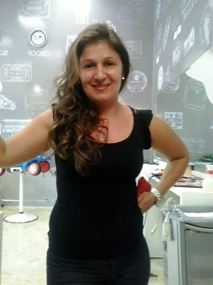 Eu com babyliss Salão My look recepcionista auxiliar cabeleireiro(a)