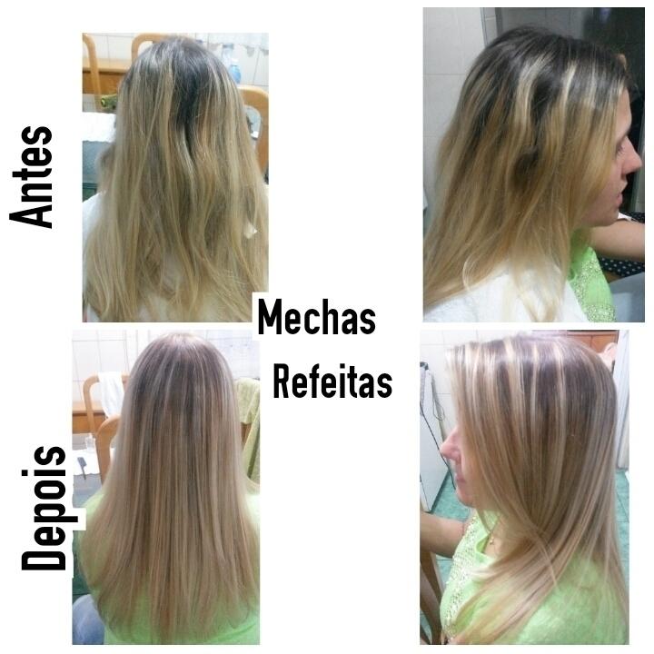 Mechas Refeitas cabeleireiro(a) maquiador(a) depilador(a)