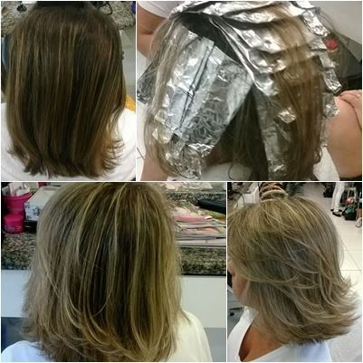 mechas!!! cabeleireiro(a)