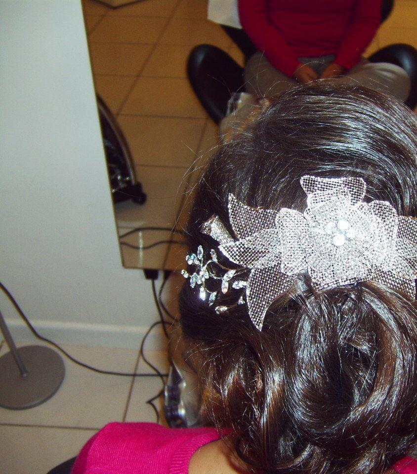 primeiro teste  para ver arranjo a ser usado. vejam como a balaiagen da luz aos bucles do penteado cabeleireiro(a) docente / professor(a) maquiador(a) stylist /visagista