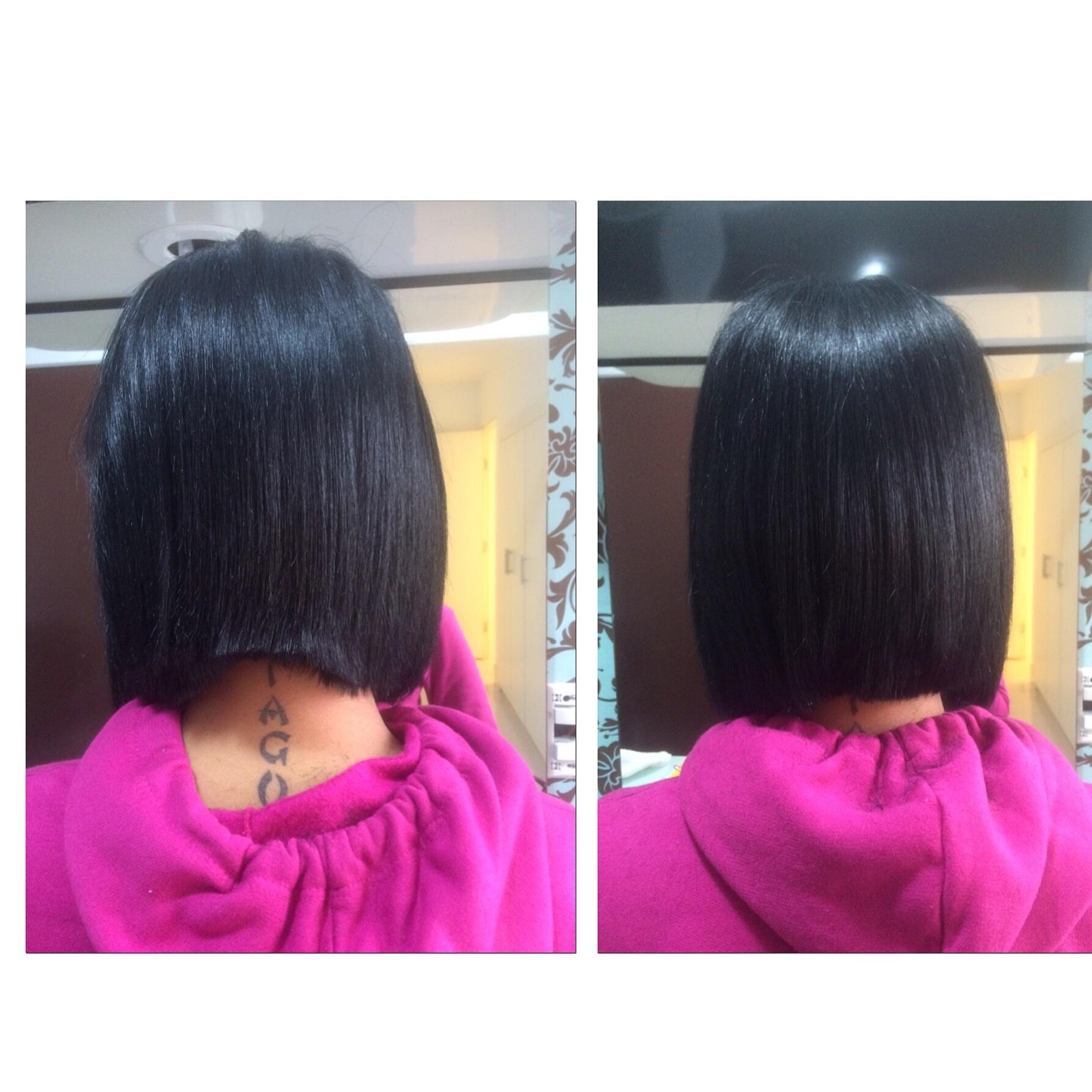 Correção de corte cabeleireiro(a)