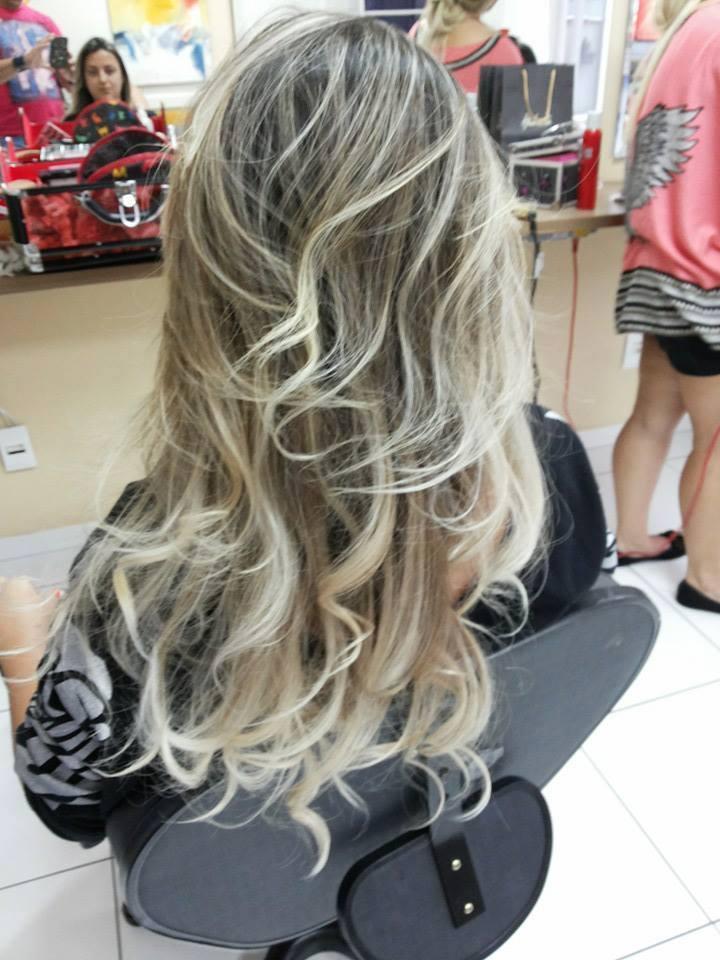 Blonds PERFEITOS mechas californianas, casamento, festa, ano novo, platinado cabelo  cabeleireiro(a)