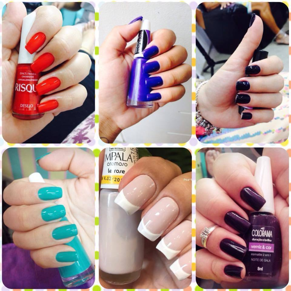 naails <3  manicure e pedicure