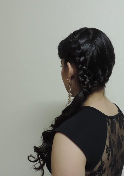 trança lateral, casamento, noiva, madrinha cabelo  maquiador(a) escovista depilador(a) designer de sobrancelhas micropigmentador(a)