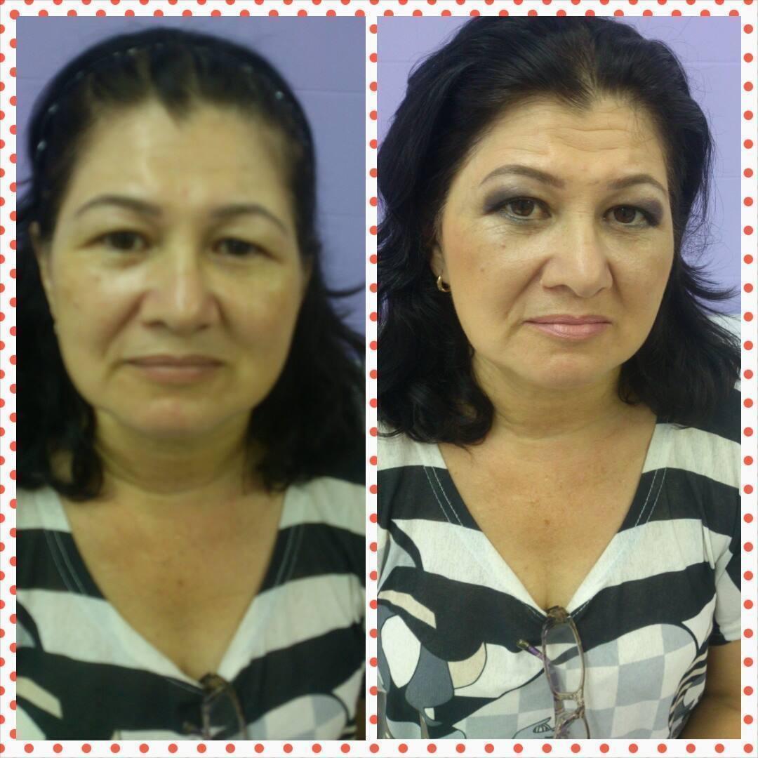 Maquiagem pele madura maquiador(a) esteticista