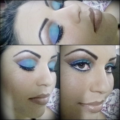 Cute Crease Blue maquiador(a)