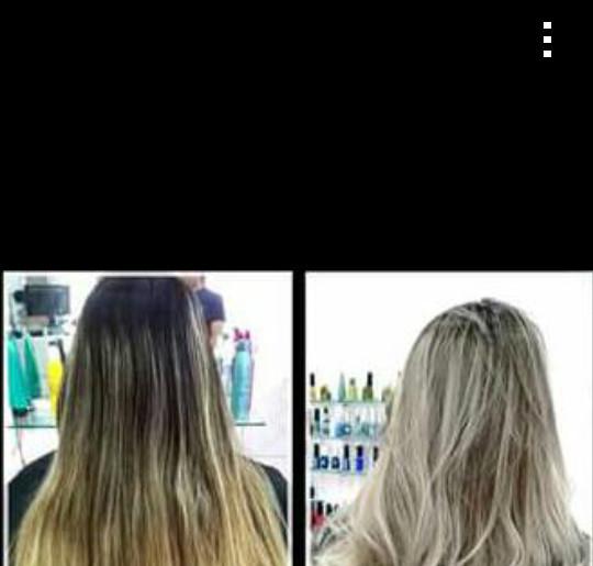Luzes Clareamento de decapagem realizado no espaço creative auxiliar cabeleireiro(a) telemarketing auxiliar cabeleireiro(a)