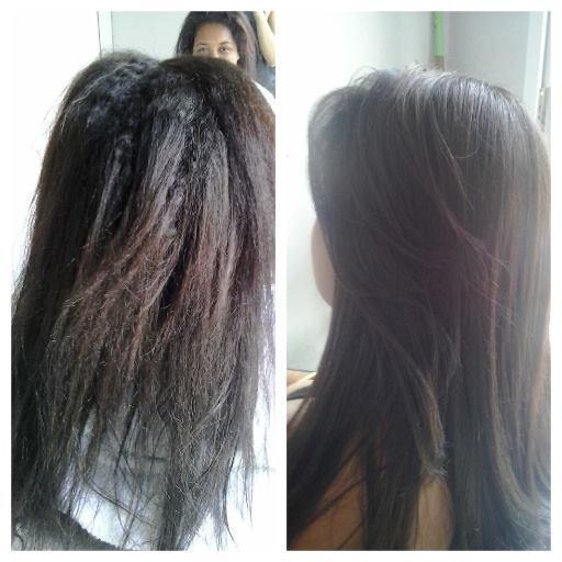 Antes e Depois/ Escova Progressiva Escova Progressiva sem formol cabeleireiro(a)