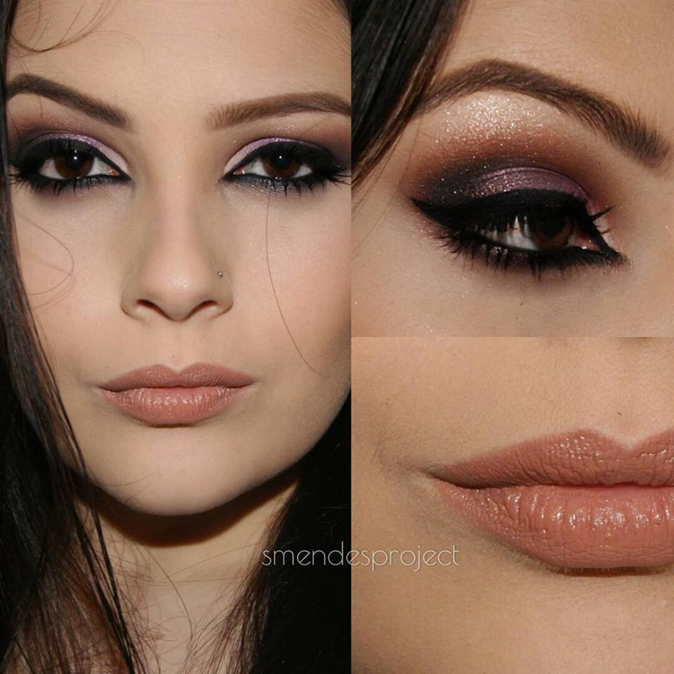 formatura, elegante, esfumado, festa, noite e dia maquiagem  maquiador(a)