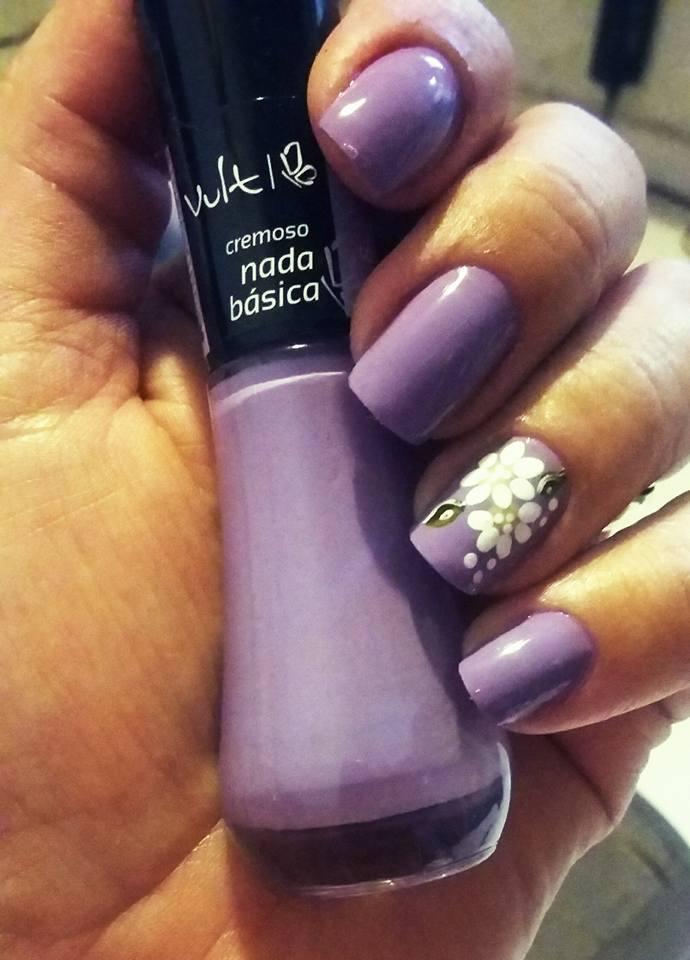 dia-a-dia, flor, básico unhas  manicure e pedicure