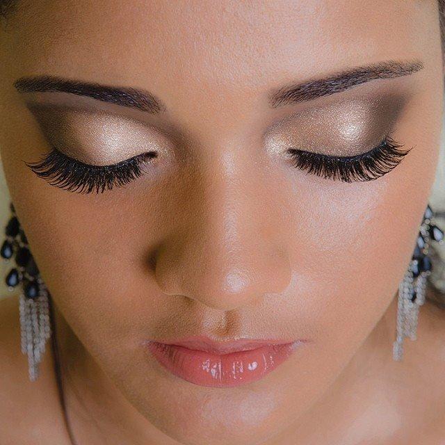 esfumado marrom, simples, noite maquiagem  maquiador(a)
