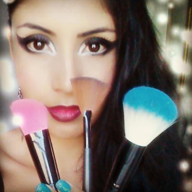 Luana Torres #Exoticmakeup #Exoticgirl #Make #Ladydark #Loveformake estudante maquiador(a) designer de sobrancelhas recepcionista