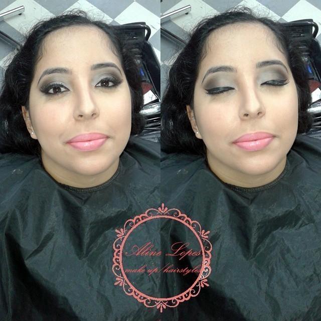 Make esfumada para todas as ocasiões  maquiador(a) escovista
