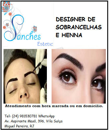 esteticista depilador(a) designer de sobrancelhas docente / professor(a)