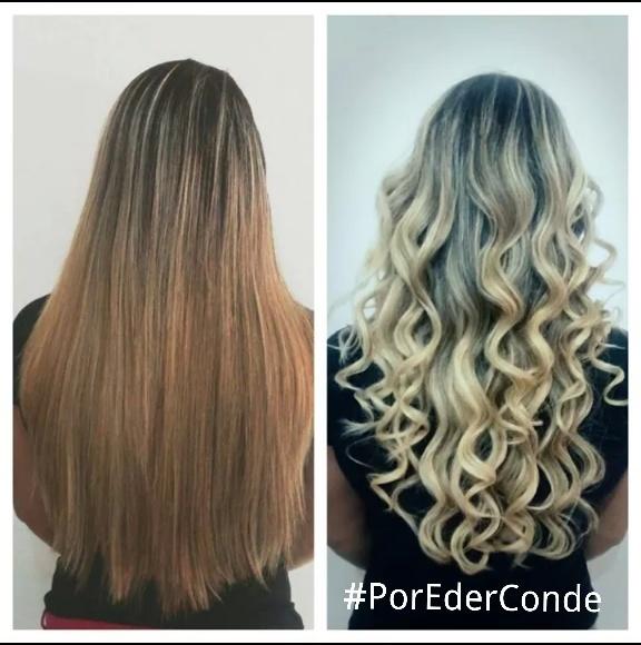 coloração, loiro, ombre hair  cabelo  cabeleireiro(a) maquiador(a)
