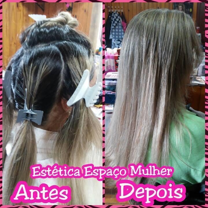 Retoque de Luzes cabeleireiro(a) depilador(a) manicure e pedicure