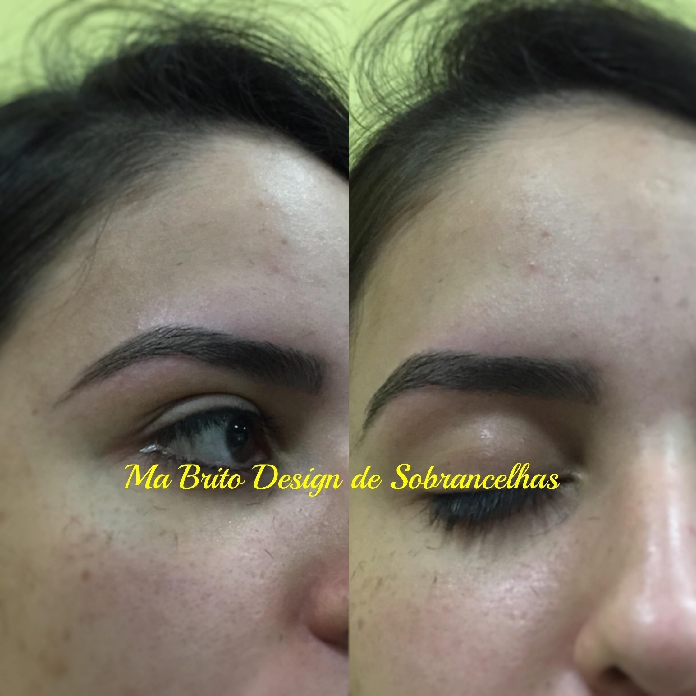 Amo o que faço!!!!! designer de sobrancelhas manicure e pedicure