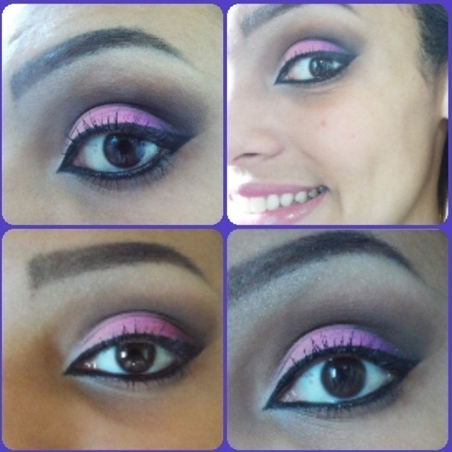 Bruna Make Pink cut crease, festa, balada, formatura, casamento, pink maquiagem  consultor(a) de estetica