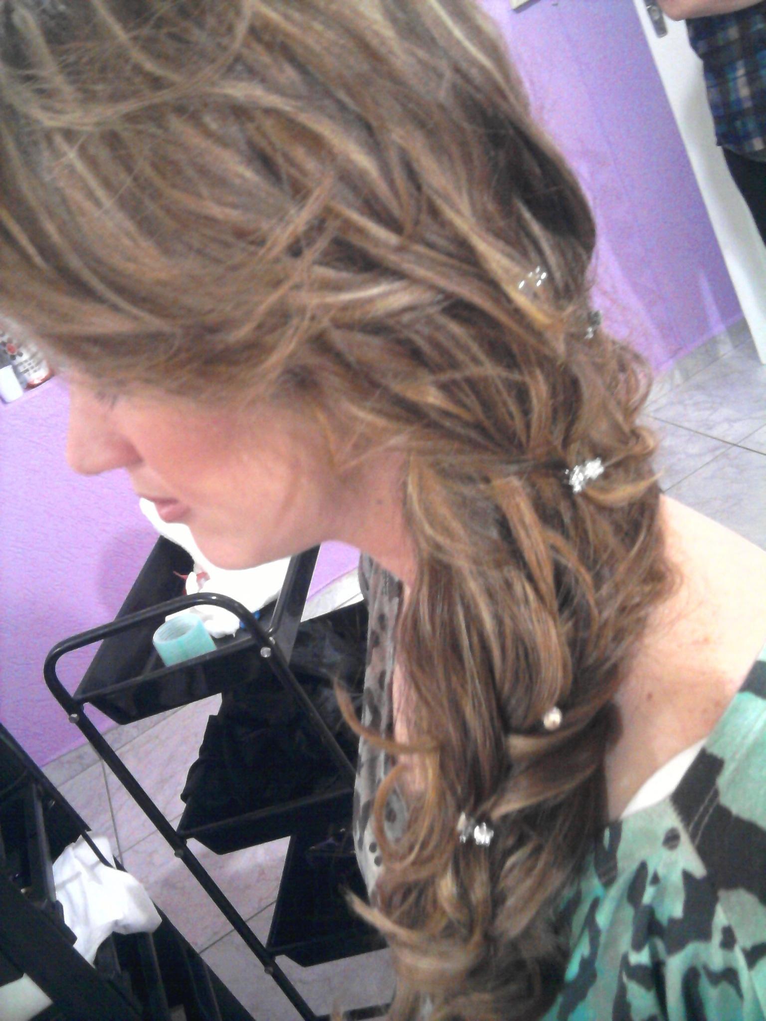 cabelo com mechas cabeleireiro(a) cabeleireiro(a)