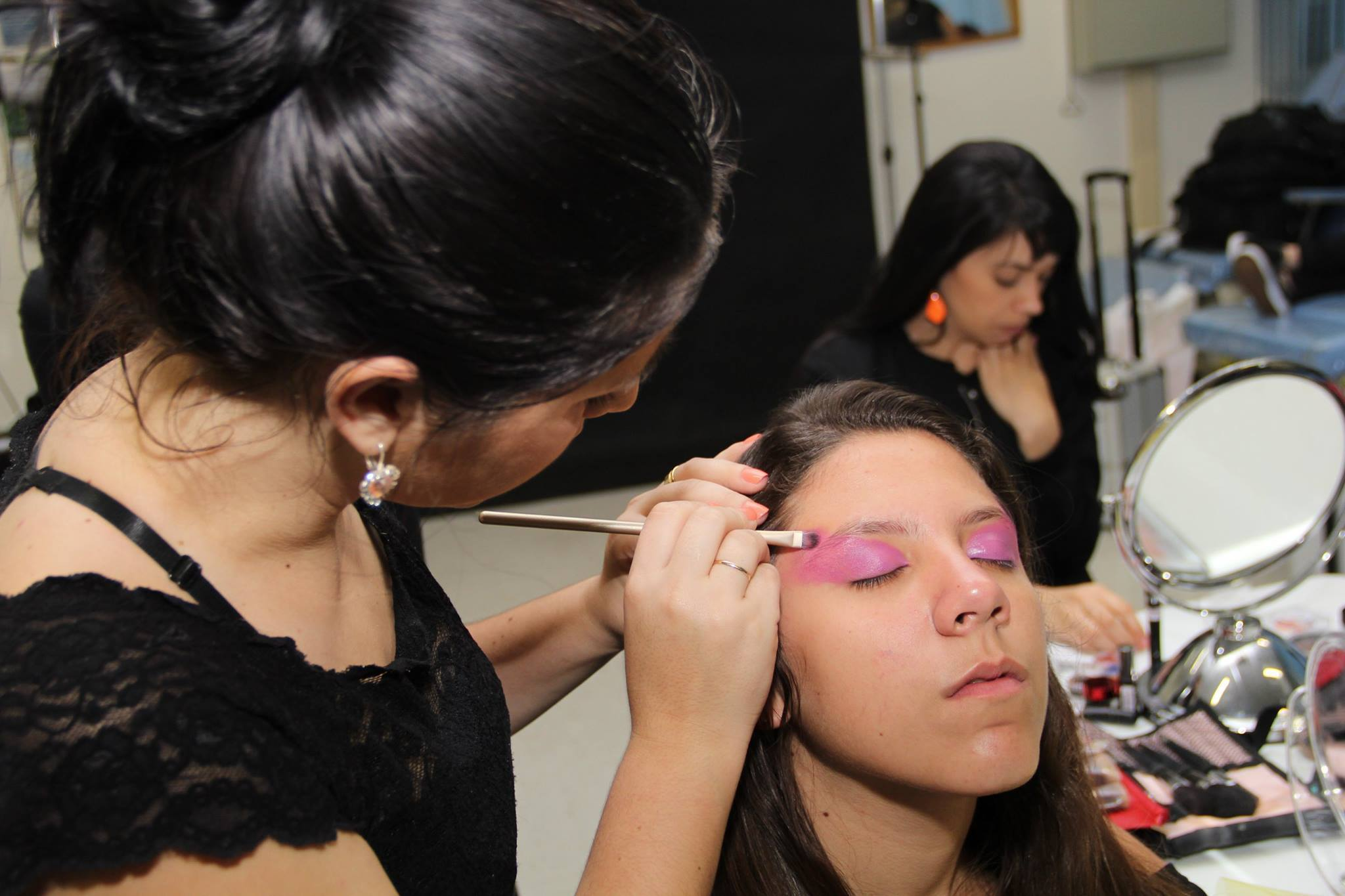 Desfile Senac maquiador(a)