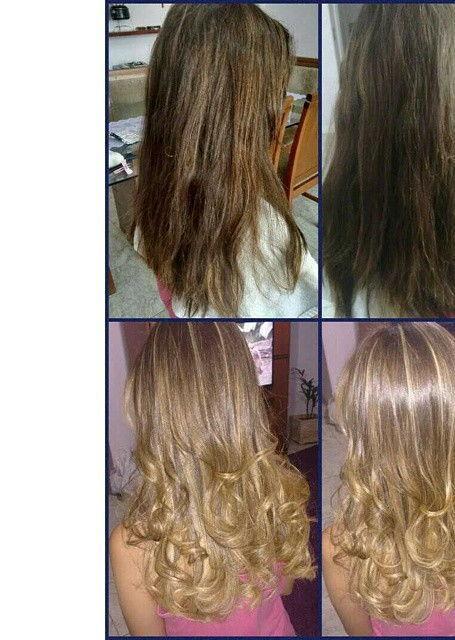 Mechas Foram relizadas, mechas costuradas e erissadas feitas no papel. cabeleireiro(a) auxiliar cabeleireiro(a) cabeleireiro(a)
