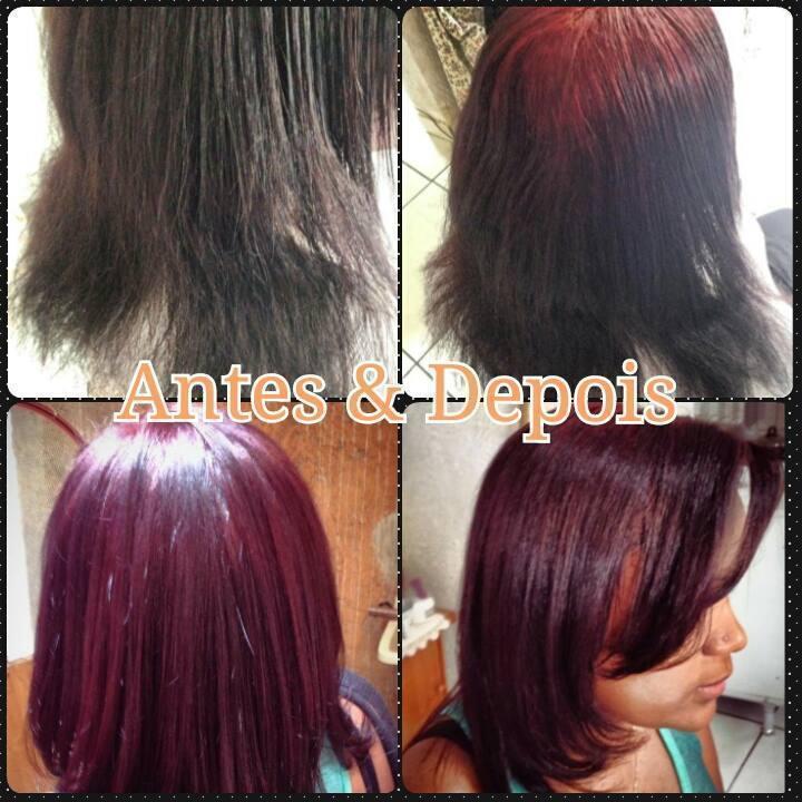 Vermelho Coloração e tratamento cabeleireiro(a) auxiliar cabeleireiro(a) cabeleireiro(a)