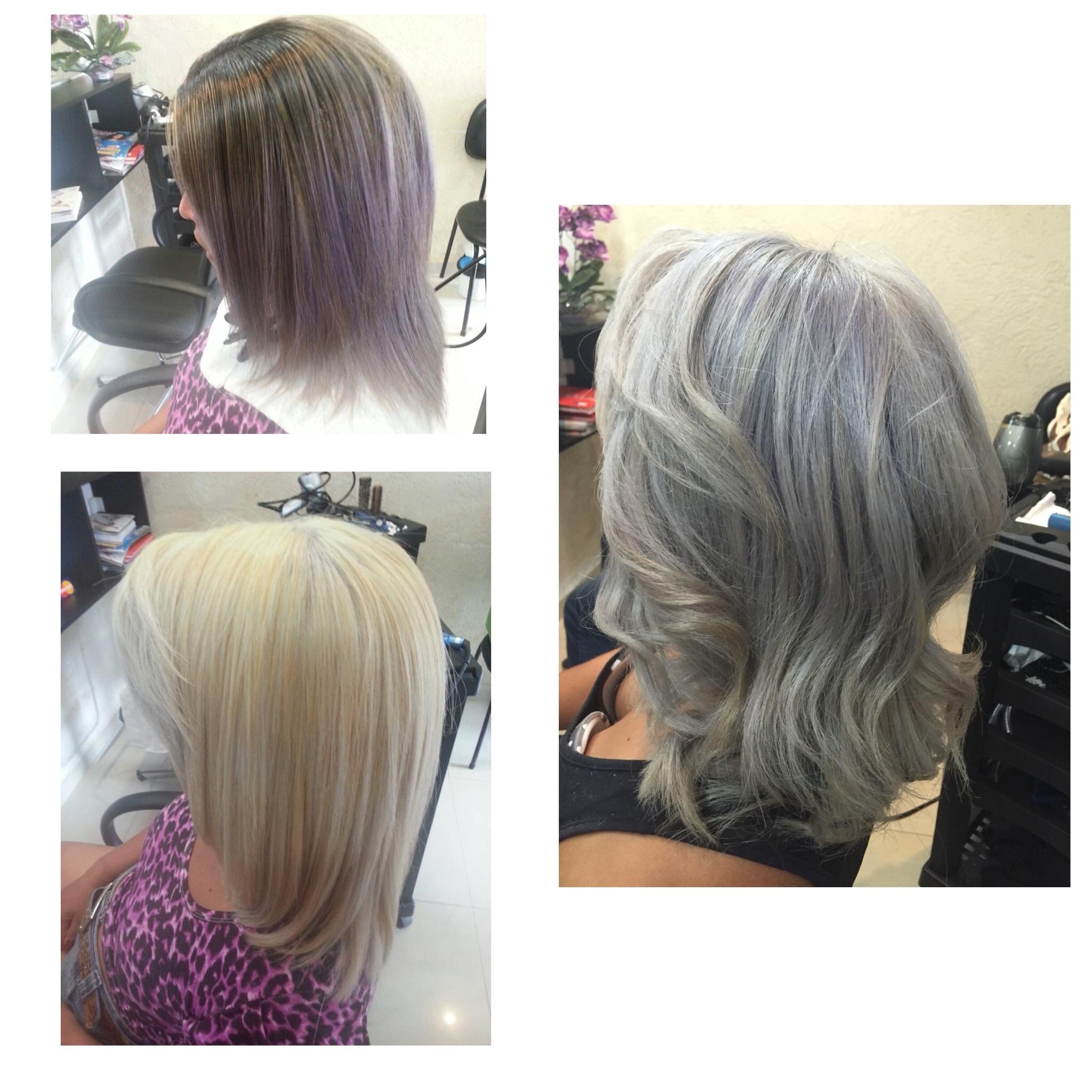 Correção de cor  cabeleireiro(a) maquiador(a)