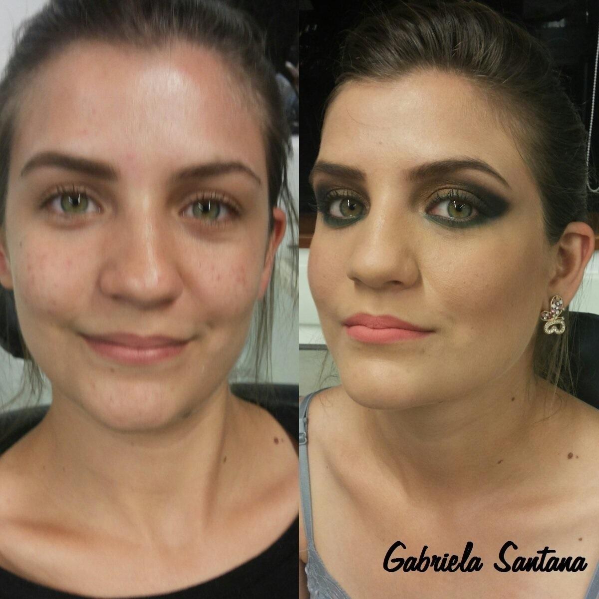 Maquiagem corretiva Nessa maquiagem foi feita a correção da pele com os corretivos camufladores maquiador(a)