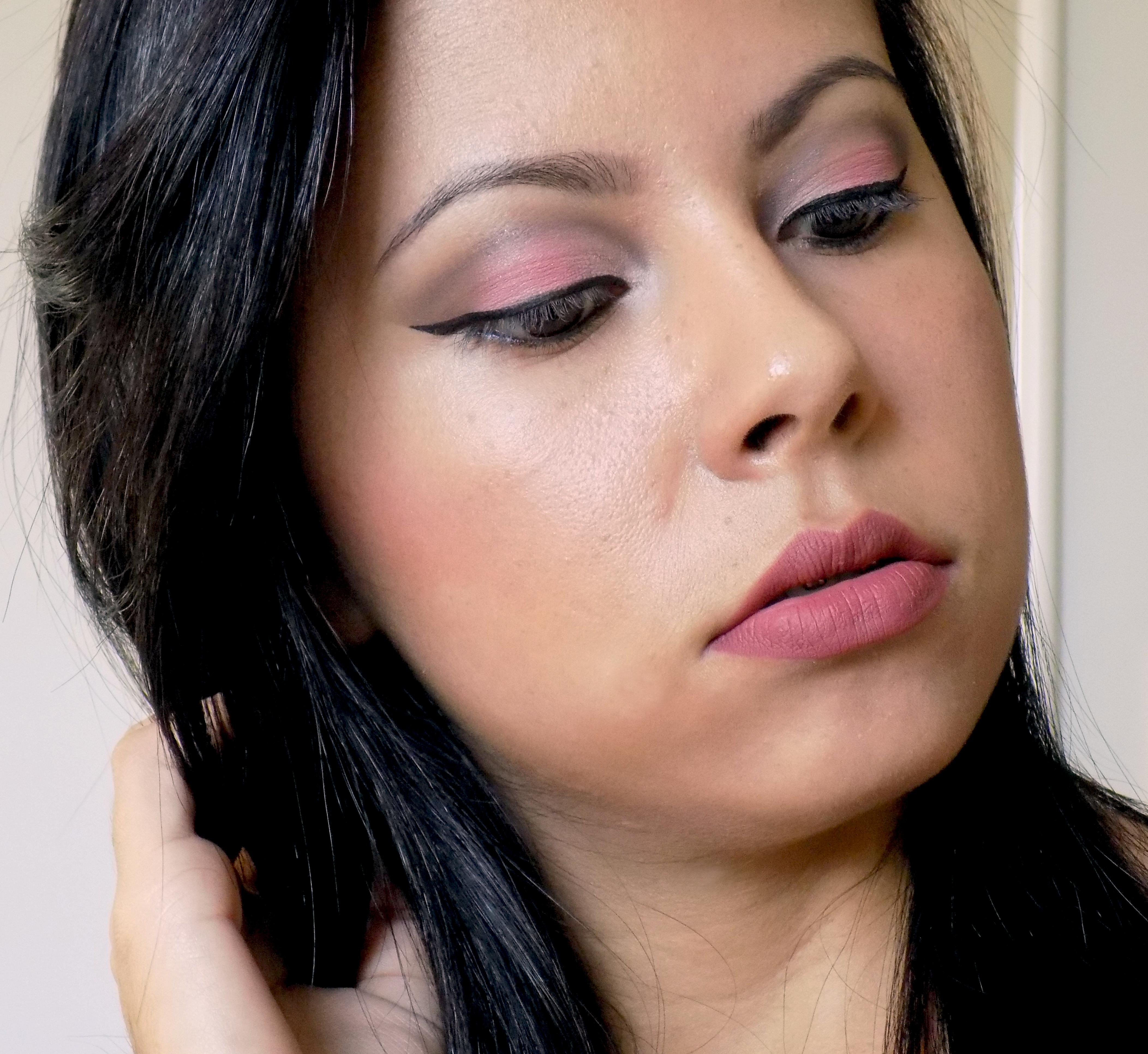 Make básica para o dia a dia dia-a-dia, simples, esfumado maquiagem  maquiador(a)
