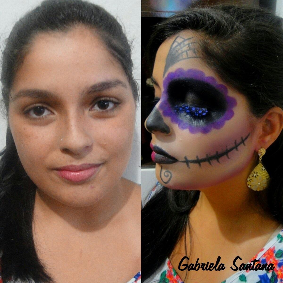 Maquiagem Artistica - Caveira Mexicana Maquiagem artística conceitual. maquiador(a)