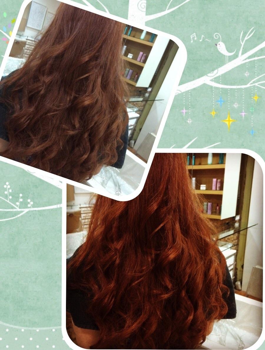 ativação da cor  cabeleireiro(a)