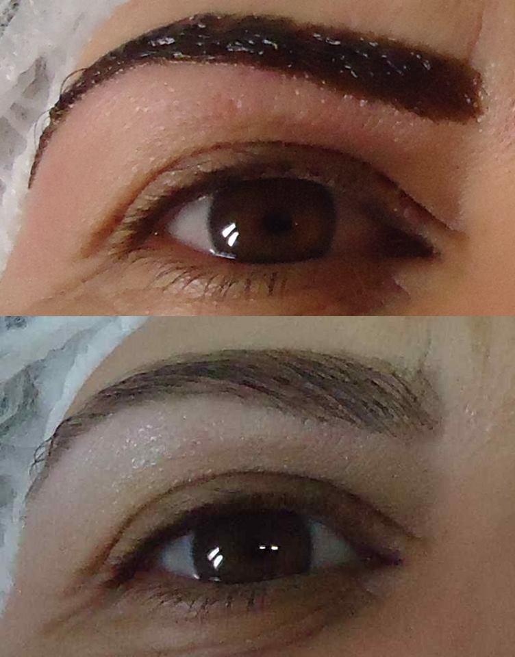 Henna Aplicação de Henna para dar definição ao desenho das sobrancelhas. designer de sobrancelhas