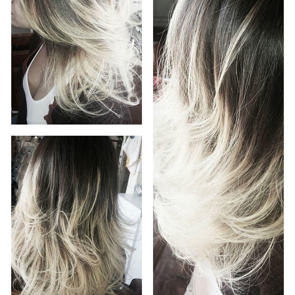 meus trabalhos alguns penteados, maquiagens e coloracões! cabeleireiro(a) designer de sobrancelhas maquiador(a)