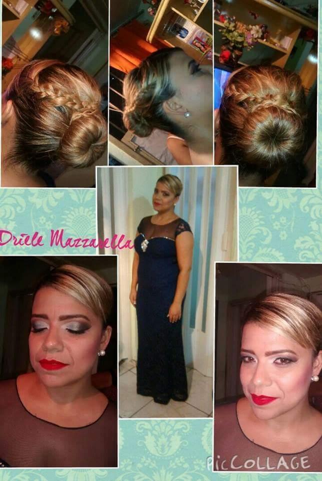 Produção de Madrinha Make e Hair por mim maquiador(a)